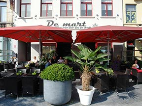 Parasols terrasse restaurant